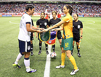 USWNT vs. Australia, Sunday, October 20, 2013