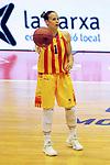 Catalunya vs Montenegro: 83-57.<br /> Nuria Martinez.