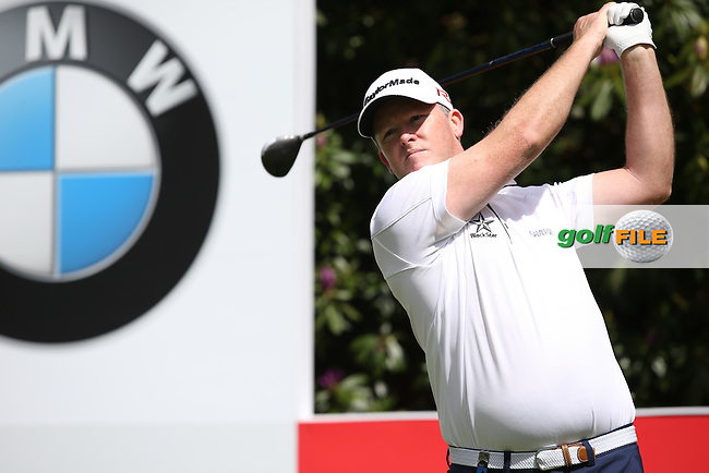 Marcus FRASER (AUS) during Round One of the 2015 BMW PGA Championship over the West Course at Wentworth, Virginia Water, London. 21/05/2015Picture David Lloyd, www.golffile.ie.