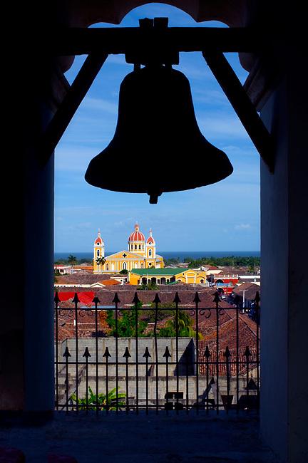 Nicaragua / Granada / Cathedral of Granada / Bell Tower / Iglesia de la Merced