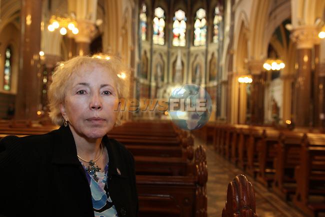 Bishop Brigid Meehan pictured in St Peters Church in Drogheda..Pic Fran Caffrey/newsfile.ie