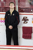 Chris Malloy (BC - Manager) - The visiting Merrimack College Warriors tied the Boston College Eagles at 2 on Sunday, January 8, 2011, at Kelley Rink/Conte Forum in Chestnut Hill, Massachusetts.