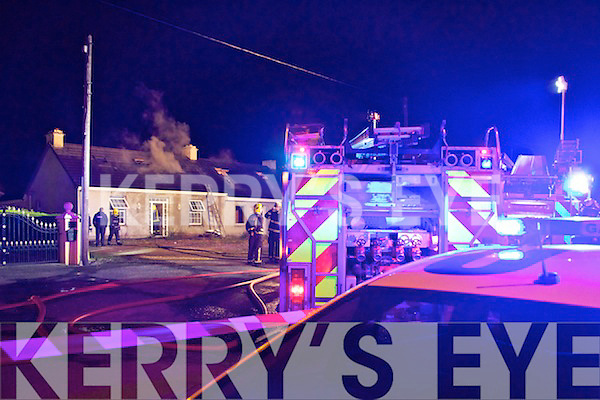 Fire at Killeen, Tralee on Tuesday evening.