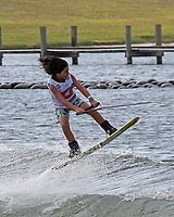 ORLANDO, FL - April 29:  Maddox Meek USA finishes 2nd in the Boy's Beginner Division at the WWA Nautique Wake Open 2017 at  the Orlando Watersports Complex on April 29, 2017 in Orlando, Florida. (Photo by Liz Lamont/Eclipse Sportswire/Getty Images)