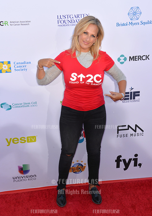SANTA MONICA, CA. September 07, 2018: Marlee Matlin at the 2018 Stand Up To Cancer fundraiser at Barker Hangar, Santa Monica Airport.