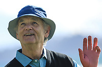 Actor Bill Murray (A) in action at Pebble Beach Golf Links during the third round of the AT&T Pro-Am, Pebble Beach Golf Links, Monterey, USA. 09/02/2019<br /> Picture: Golffile | Phil Inglis<br /> <br /> <br /> All photo usage must carry mandatory copyright credit (© Golffile | Phil Inglis)