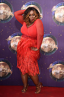 Chizzy Akudolu at the launch of the new series of &quot;Strictly Come Dancing&quot; at New Broadcasting House, London, UK. <br /> 28 August  2017<br /> Picture: Steve Vas/Featureflash/SilverHub 0208 004 5359 sales@silverhubmedia.com
