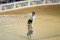Picture by Alex Whitehead/SWpix.com - 03/03/2017 - Cycling - UCI Para-cycling Track World Championships - Velo Sports Center, Los Angeles, USA - Men's C3 3km Individual Pursuit. Gold - Australia's David Nicholas.