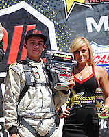 Apr 16, 2011; Surprise, AZ USA; LOORRS driver Kevin McCullough during round 3 at Speedworld Off Road Park. Mandatory Credit: Mark J. Rebilas-.