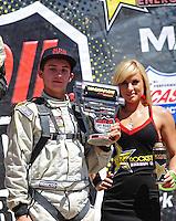 Apr 16, 2011; Surprise, AZ USA; LOORRS driver Kevin McCullough during round 3 at Speedworld Off Road Park. Mandatory Credit: Mark J. Rebilas-.