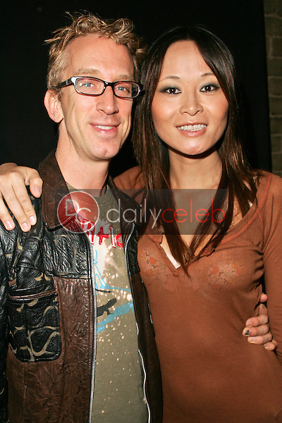 Andy Dick and Helen Wong<br />