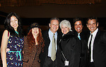 Mina, Jane Elissa, Robert Woods, Loyita Chapel, Dale Badway and Sean McDermott as they support the Broadway Extravaganza to honor the Candidacy of Artist Jane Elissa for the Leukemia & Lymphoma Society, Man & Woman of the Year on April 23, 2012 at the New York Marriott Marquis, New York City, New York.  (Photo by Sue Coflin/Max Photos)