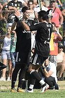 Villar Perosa (To) 17-08-2017 friendly Match Juventus A - Juventus B / foto Daniele Buffa/Image Sport/Insidefoto<br /> nella foto: Gianluigi Buffon-Wojciech Szczesny