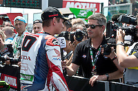 2016 FIM Superbike World Championship, Round 08, Misano, Italy, 16-19 June 2016, Michael VD Mark, Honda
