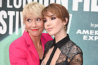 Emma Thompson &amp; daughter Gaia Wise at the London Film Festival 2017 screening of &quot;The Meyerowitz Stories&quot; at the Embankment Gardens Cinema, London, UK. <br /> 07 October  2017<br /> Picture: Steve Vas/Featureflash/SilverHub 0208 004 5359 sales@silverhubmedia.com