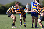 NELSON, NEW ZEALAND - AUGUST 8: U18 Rugby - Wanderers v MBC, Lord Rutherford Park Brightwater, 8th August, New Zealand. (Photos by Barry Whitnall/Shuttersport Limited)