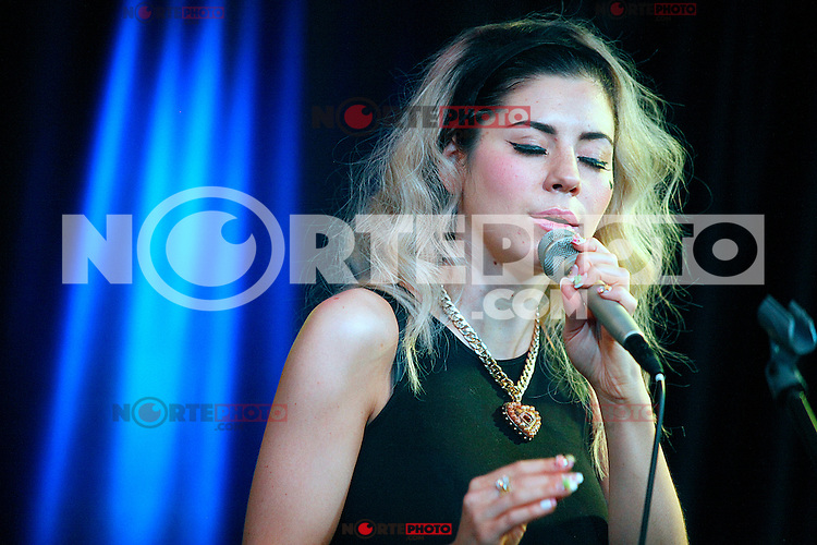 Marina and the Diamonds visit Q102's iHeart Radio Performance Theater in Bala Cynwyd, Pa on August 17, 2012  © Star Shooter / MediaPunchInc /Nortephoto.com<br />