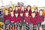 Pupils from Glengurt NS, Tournafulla pictured on their first day of school last Thursday...++No Names Policy++
