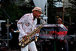 June 27, 2009:  Kirk Whalum at the 'Rhythm on the Vine' charity event to benefit Shriners Children Hospital held at  the South Coast Winery Resort & Spa in Temecula, California..Photo by Nina Prommer/Milestone Photo