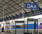VMI Vincentian Heritage Tour: Arriving in Dax Saturday, June 25, 2016, on the high speed rail (TGV) across Germany. (DePaul University/Jamie Moncrief)
