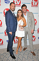 Danny Dyer, Dani Dyer and Jack Fincham at the TV Choice Awards 2018, The Dorchester Hotel, Park Lane, London, England, UK, on Monday 10 September 2018.<br /> CAP/CAN<br /> &copy;CAN/Capital Pictures