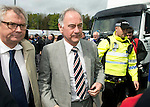 St Johnstone v Rangers....13.05.12   SPL.Charles Green arrives at McDiarmid Park.Picture by Graeme Hart..Copyright Perthshire Picture Agency.Tel: 01738 623350  Mobile: 07990 594431