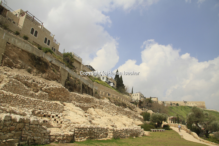 City of David National Park at...