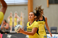 Pulse&rsquo; Tiana Metuarau, Netball Pre Season Tournament - Pulse v Stars at Ngā Purapura, Otaki, New Zealand on Saturday 9 February  2019. <br />