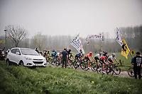 the Paddestraat cobbles<br /> <br /> 103rd Ronde van Vlaanderen 2019<br /> One day race from Antwerp to Oudenaarde (BEL/270km)<br /> <br /> ©kramon