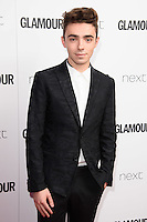 Nathan Sykes<br /> arrives for the Glamour Women of the Year Awards 2016, Berkley Square, London.<br /> <br /> <br /> &copy;Ash Knotek  D3130  07/06/2016