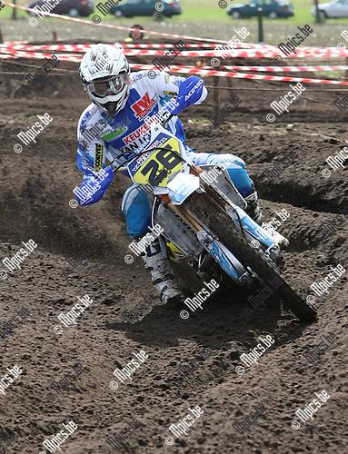 2009-03-29 / Motorcross / VLM Arendonk / Inters Open / Jimmy Huysmans..Foto: Maarten Straetemans (SMB)