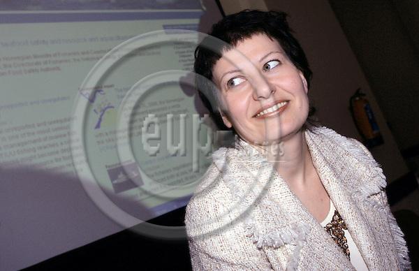 BRUSSELS - BELGIUM - 09 MAY 2006 -- Norwegian Fishery Minister Helga PEDERSEN. --  PHOTO: JUHA ROININEN / EUP-IMAGES.
