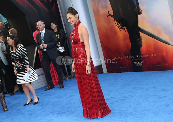 HOLLYWOOD, CA - MAY 25: Gal Gadot, at the Wonder Woman Los Angeles Film Premiere at The Pantages in Hollywood, California on May 25, 2017. Credit: Faye Sadou/MediaPunch