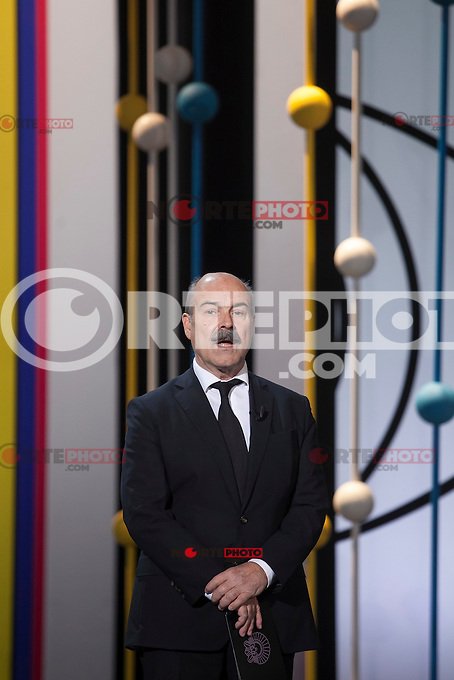 Antonio Resines during the 63rd Donostia Zinemaldia opening ceremony (San Sebastian International Film Festival) in San Sebastian, Spain. September 18, 2015. (ALTERPHOTOS/Victor Blanco) /NortePhoto.com