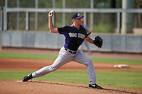 Colorado Rockies pitcher Ryan Castellani (29) during an instructional league game against the SK Wyverns on October 10, 2015 at the Salt River Fields at Talking Stick in Scottsdale, Arizona.  (Mike Janes/Four Seam Images)
