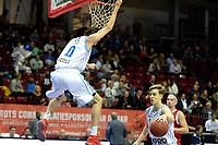 GRONINGEN - Basketbal, Donar - Feyenoord, Dutch Basketbal league, seizoen 2018-2019, 28-10-2018,  dunk van Donar speler Grant Sitton