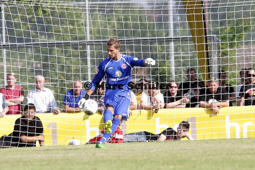 Kevin Trapp (Eintracht) - Eintracht Frankfurt vs. VfR Aalen