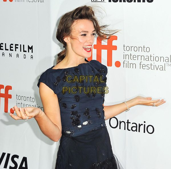 10 September 2014 - Toronto, Canada - Keira Knightley. &quot;Laggies&quot; Premiere during the 2014 Toronto International Film Festival held at Roy Thomson Hall.  <br /> CAP/ADM/BPC<br /> &copy;Brent Perniac/AdMedia/Capital Pictures