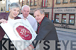 40 YEARS STRONG: Tralee Credit Union celebrates its 40th Anniversary on Monday after it was established on the 18th of February 1968. From l-r were: Margaret Ryle, Fintan Ryan (Manager Tralee Credit Union) and Kevin Geary.   Copyright Kerry's Eye 2008