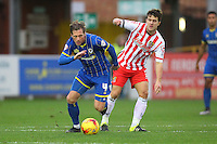 AFC Wimbledon vs Stevenage 12-12-15