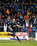 Graham Dorrans celebrates his goal for Rangers