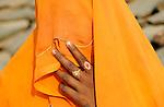 INDIA Uttar Pradesh , dalit women in village in Bundelkhand  / INDIEN Uttar Pradesh, Frauen unterer Kasten und kastenlose Frauen, Dalits, in Doerfern in Bundelkhand