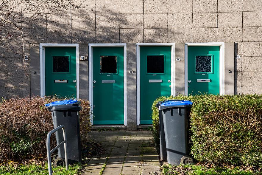 Nederland, Zeist, 22 nov 2016<br /> Woongoed. <br /> Ridderschapslaan<br /> <br /> Foto: (c) Michiel Wijnbergh