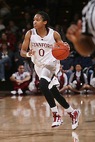 STANFORD, CA - JANUARY 16:  Melanie Murphy of the Stanford Cardinal during Stanford's 66-51 win over the Washington Huskies on January 16, 2010 at Maples Pavilion in Stanford, California.