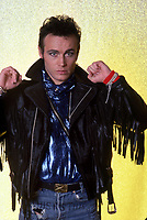 Adam Ant poses for a portrait, Detroit, MI, November 1985.  <br /> CAP/MPI/RKA/RM<br /> ©RM/RKA/MPI/Capital Pictures