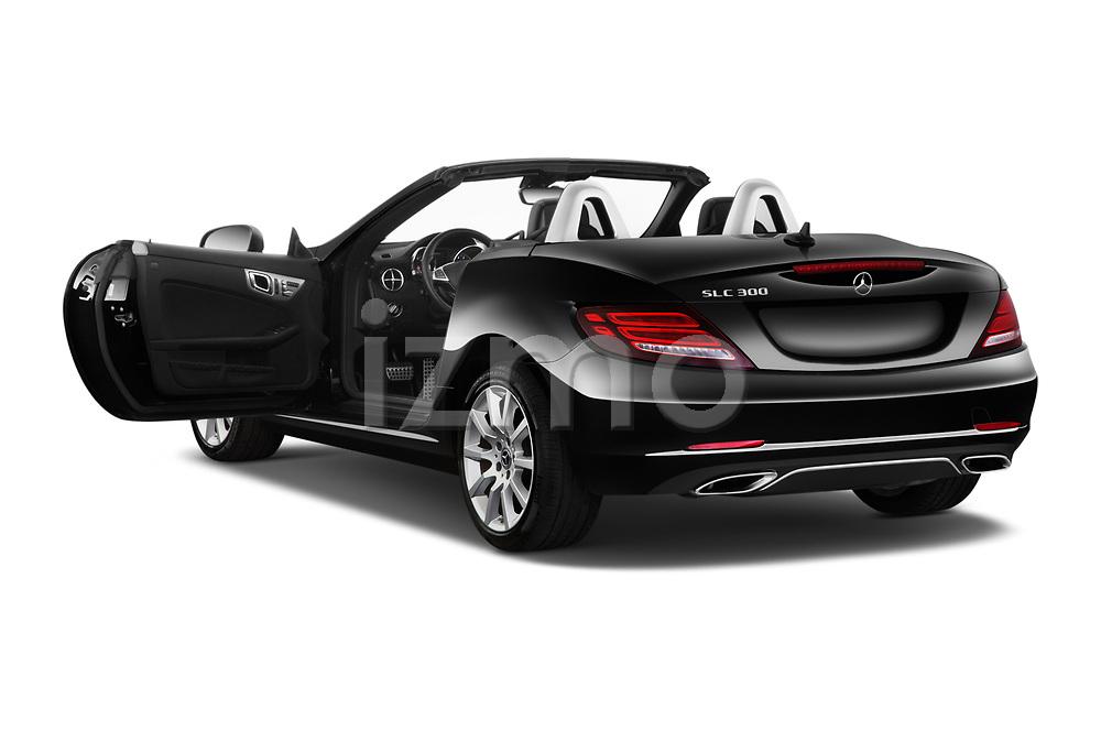 Car images close up view of a 2019 Mercedes Benz SLC Roadster SLC300 2 Door Convertible doors