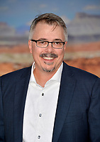 "LOS ANGELES, USA. October 08, 2019: Vince Gilligan at the premiere of ""El Camino: A Breaking Bad Movie"" at the Regency Village Theatre.<br /> Picture: Paul Smith/Featureflash"