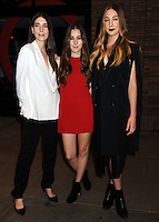 NEW YORK CITY, NY, USA - NOVEMBER 10: Danielle Haim, Alana Haim, Este Haim, Haim arrives at the 2014 Glamour Women Of The Year Awards held at Carnegie Hall on November 10, 2014 in New York City, New York, United States. (Photo by Celebrity Monitor)
