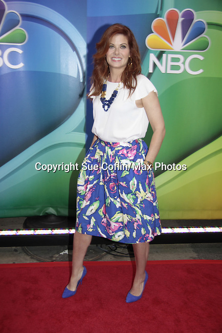 tDebra Messing - Mysteries of Laura - NBC Upfront at Radio City, New York City, New York on May 11, 2015 (Photos by Sue Coflin/Max Photos)