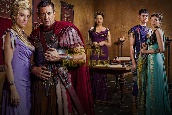 Craig Parker, Hanna Mangan, Lucy Lawless, Tom Hobbs & Viva Bianca.in Spartacus: Vengeance (Spartacus: Blood and Sand).*Filmstill - Editorial Use Only*.CAP/FB.Supplied by Capital Pictures.